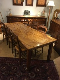 Elm Farmhouse Table / Dining Table / Kitchen Table ...