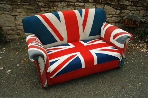 Best Of British Designs Vintage Union Flag Victorian Howard Style