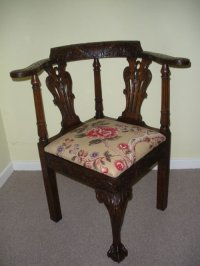 Corner Chairs Antique | Antique Furniture