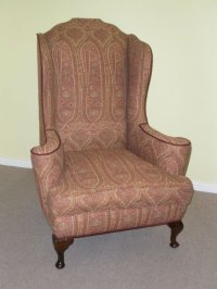 Edwardian Wing Chair | 171543 | Sellingantiques.co.uk