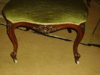 Victorian Button-back Lady's Chair   221768 ...
