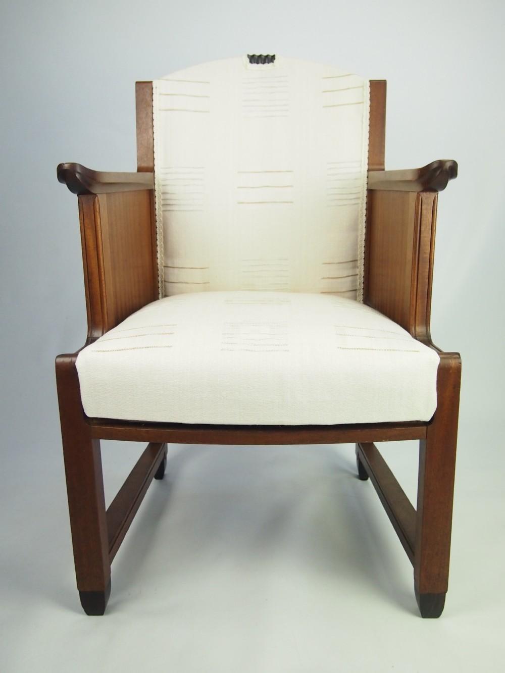 Art Deco Tub Chair  256663  Sellingantiquescouk