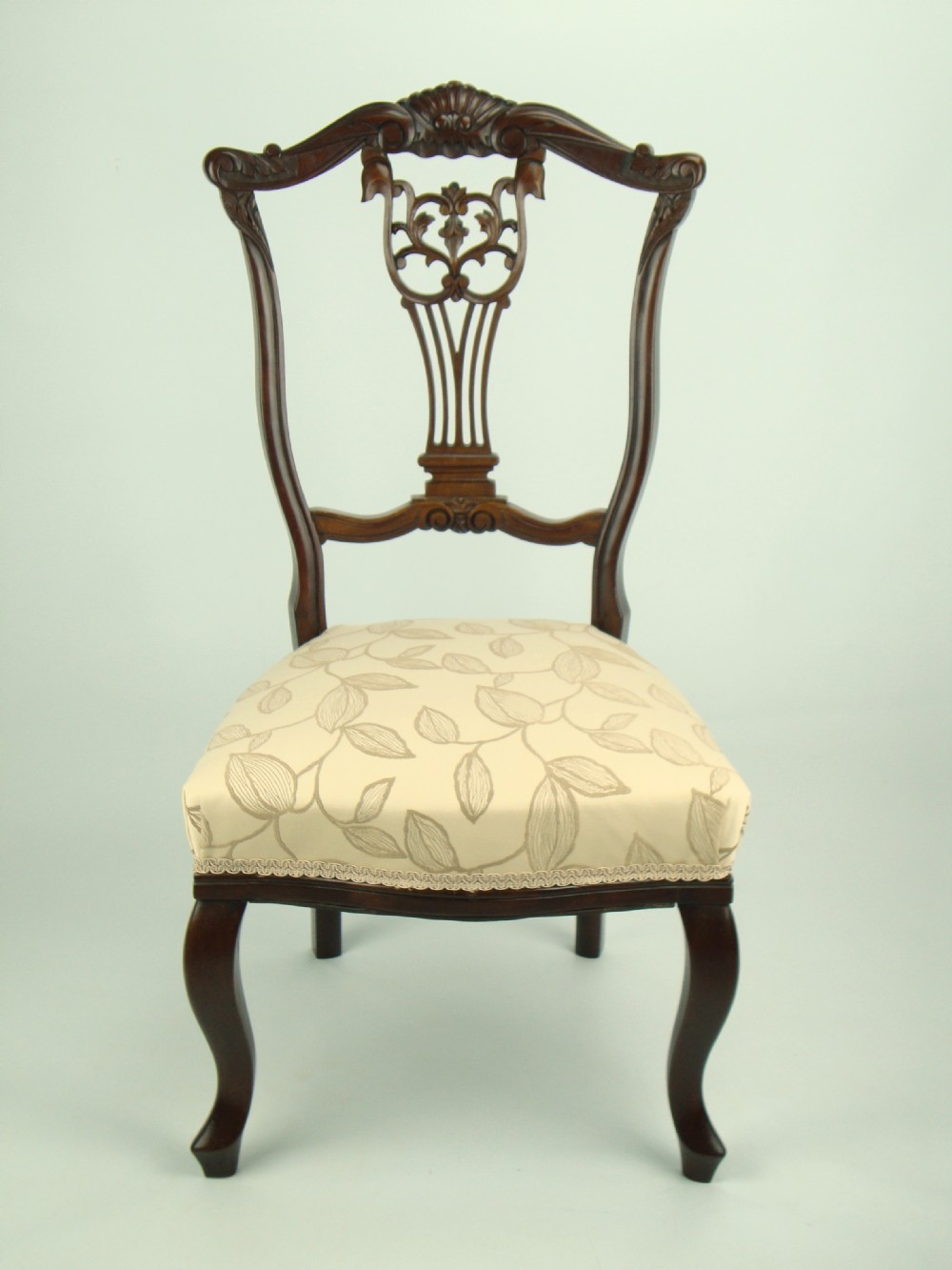 Antique Edwardian Nursing Chair