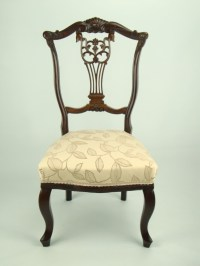 Antique Edwardian Nursing Chair