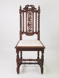 Victorian Gothic Revival Oak Chair | 370540 ...