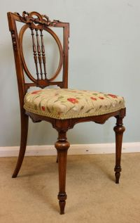 Antique Victorian Desk Chair, Dressing Table Chair ...