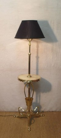 Art Nouveau Floor Lamp | 470800 | Sellingantiques.co.uk