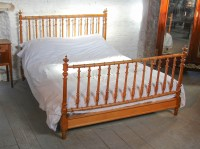 French Faux Bamboo King Size Spindle Bed | 317131 ...
