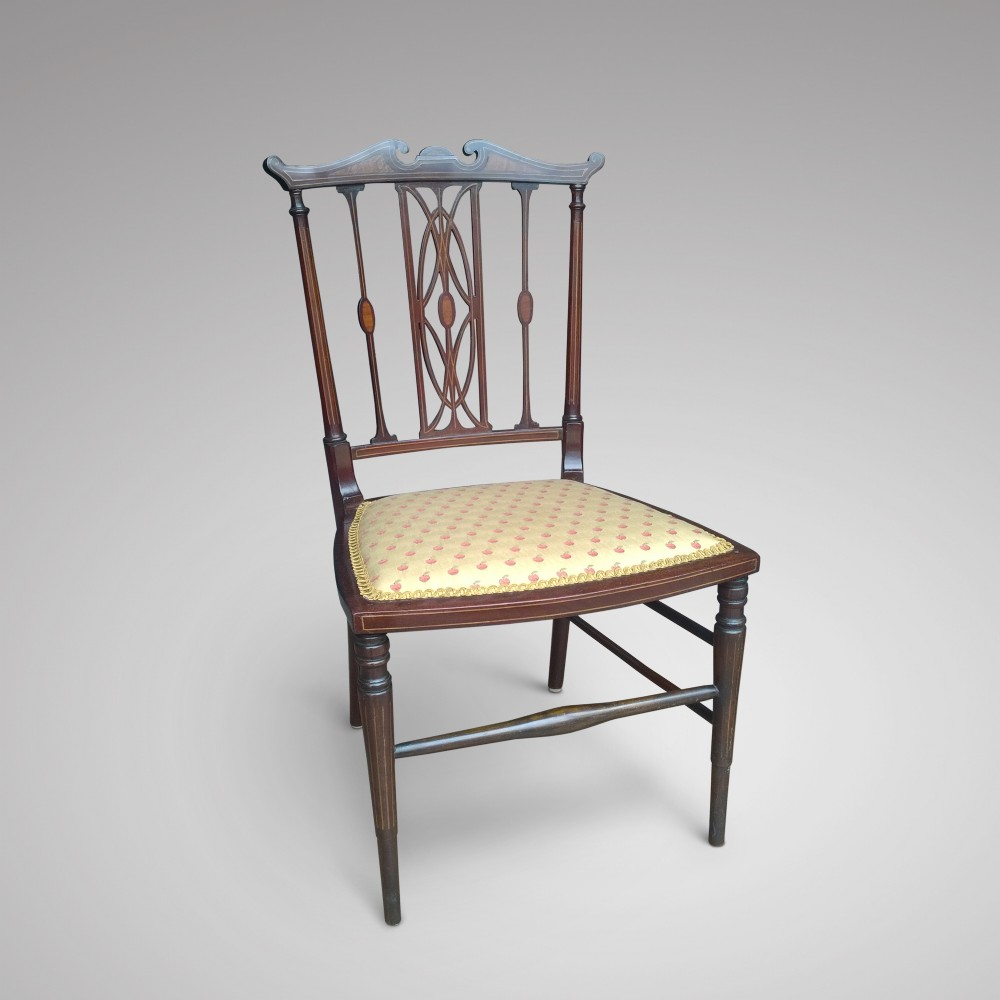 Mahogany Dressing Table Chair