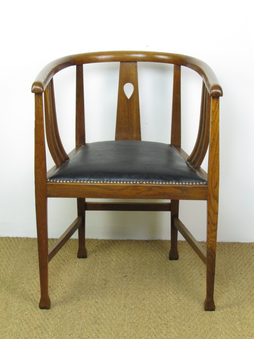 arts and crafts style chair waterproof garden covers glasgow oak tub 316022 sellingantiques
