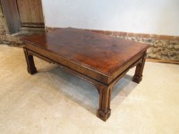 Table Coffee Table Arts And Crafts Gothic Oak C1930 ...