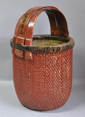 antique large chinese basket
