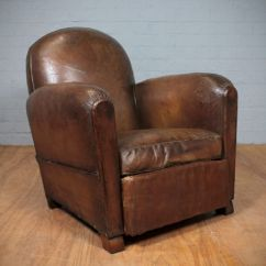 Distressed Leather Armchair Uk Walmart Folding Chair Vintage French Armchair. | 241956 Sellingantiques.co.uk
