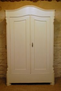 Antique French Pine Armoire /small Wardrobe / 1870 ...