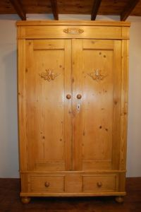 Antique Small Double Armoire Wardrobe | 431428 ...