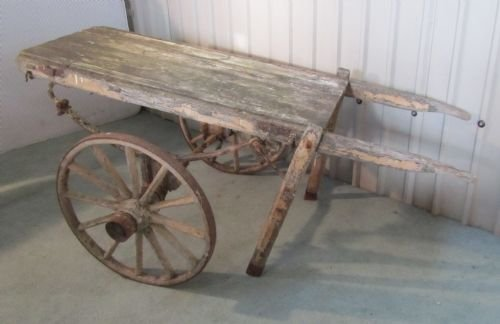 Antique Hand Cart