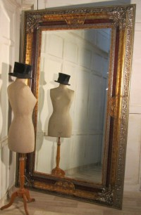 A Very Large Decorative Wall Mirror | 240540 ...