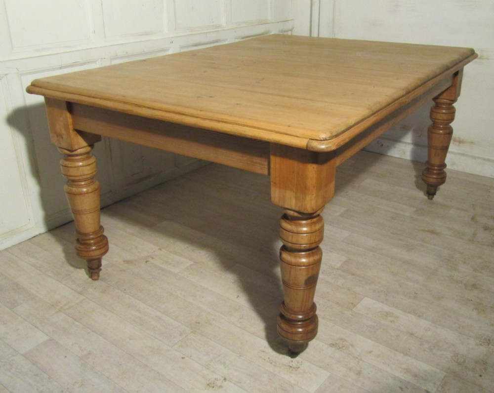 Rustic Pine Kitchen Table