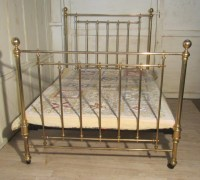 antique brass bed - antique brass bed frame simmons ...