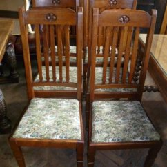 Liberty Dining Chairs Folding Chair Grey Set Of Antique Arts Crafts 164659