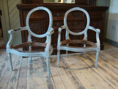 french louis chair wood childrens table and chairs antique xv style open arm frames 151769
