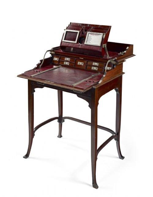 antique campaign desk - Build DIY Antique Campaign Pedestal Desk PDF Plans Wooden Wine Rack