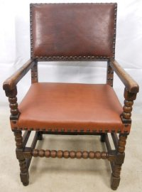 Large Throne Type Armchair | 88778 | Sellingantiques.co.uk