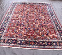 Old Mahal Carpet | 460951 | Sellingantiques.co.uk