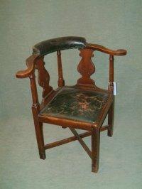 18th Century Georgian Mahogany Corner Chair | 67632 ...