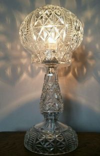 C1920 Cut Crystal Mushroom Table Lamp | 397285 ...