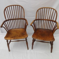 Antique Windsor Chairs Wedding Hire Newcastle A Pair Of 19th Century 237653 Sellingantiques Co Uk
