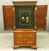 Bramah Safe Cabinet   363874   Sellingantiques.co.uk