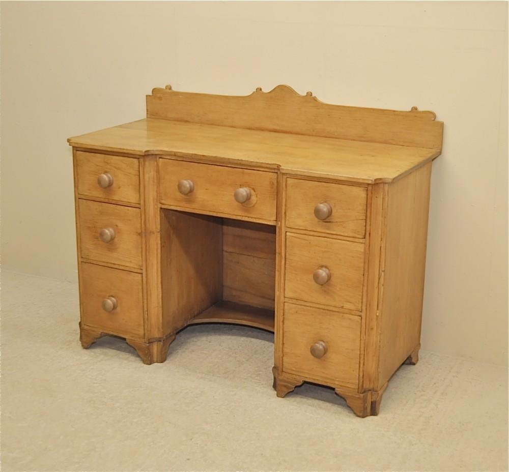 Antique Pine Desk  249324  Sellingantiquescouk