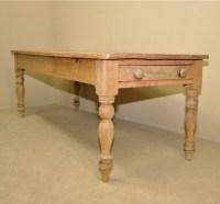 Large Farmhouse Kitchen Table | 240877 | Sellingantiques.co.uk