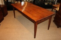 Cherry Wood Farm House Table Kitchen Table Dining Table ...