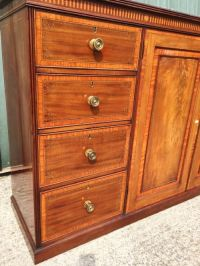 Linen Press, Cabinet. | 472944 | Sellingantiques.co.uk