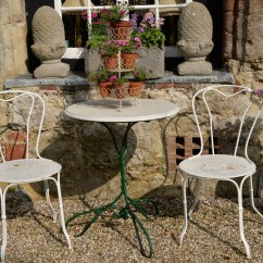 French Bistro Table And Chairs Uk Chair Cover Rentals Baltimore Md Delightful Early 20th Century Set