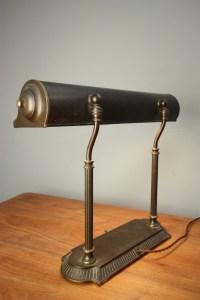 1930's American Library Desk Lamp. | 370532 ...