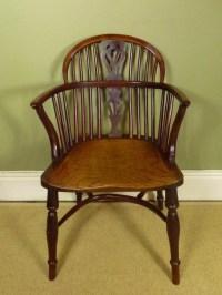 George Iii Yew Windsor Chair | 258616 | Sellingantiques.co.uk