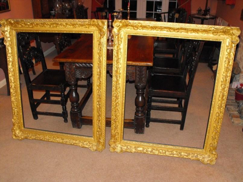 baroque picture frames large | Frameswalls.org
