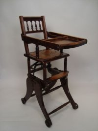 Victorian High Chair / Rocking Chair | 171961 ...