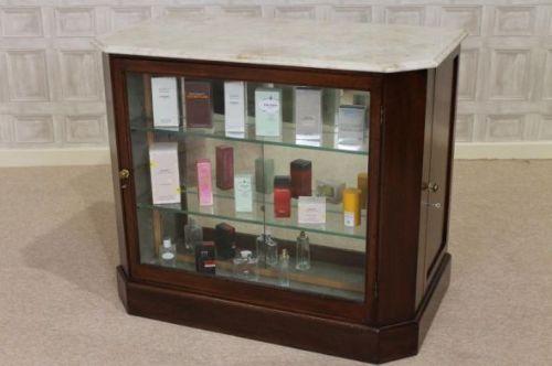 Victorian Haberdashery In Mahogany Perfume Cabinet