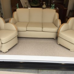 Art Deco Sofas Uk Patchwork Sofa An Cloud Three Seater And Two Armchairs By