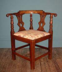 Georgian Corner Chair | 208296 | Sellingantiques.co.uk