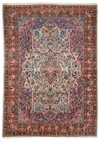 Antique Mahal Carpet / Rug West Persia