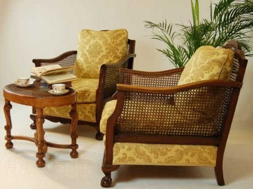 bergere chairs for sale plush leather desk chair pair antique armchairs caned club c1900 100226 page load time 0 41 seconds