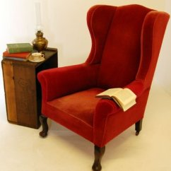 Wingback Chair Uk Cool Rocking Chairs Victorian Antique Armchair Castors C1880 104534