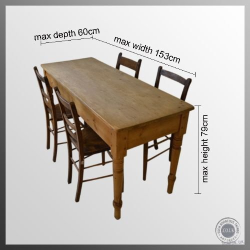 Dining Size Seater 4 Table