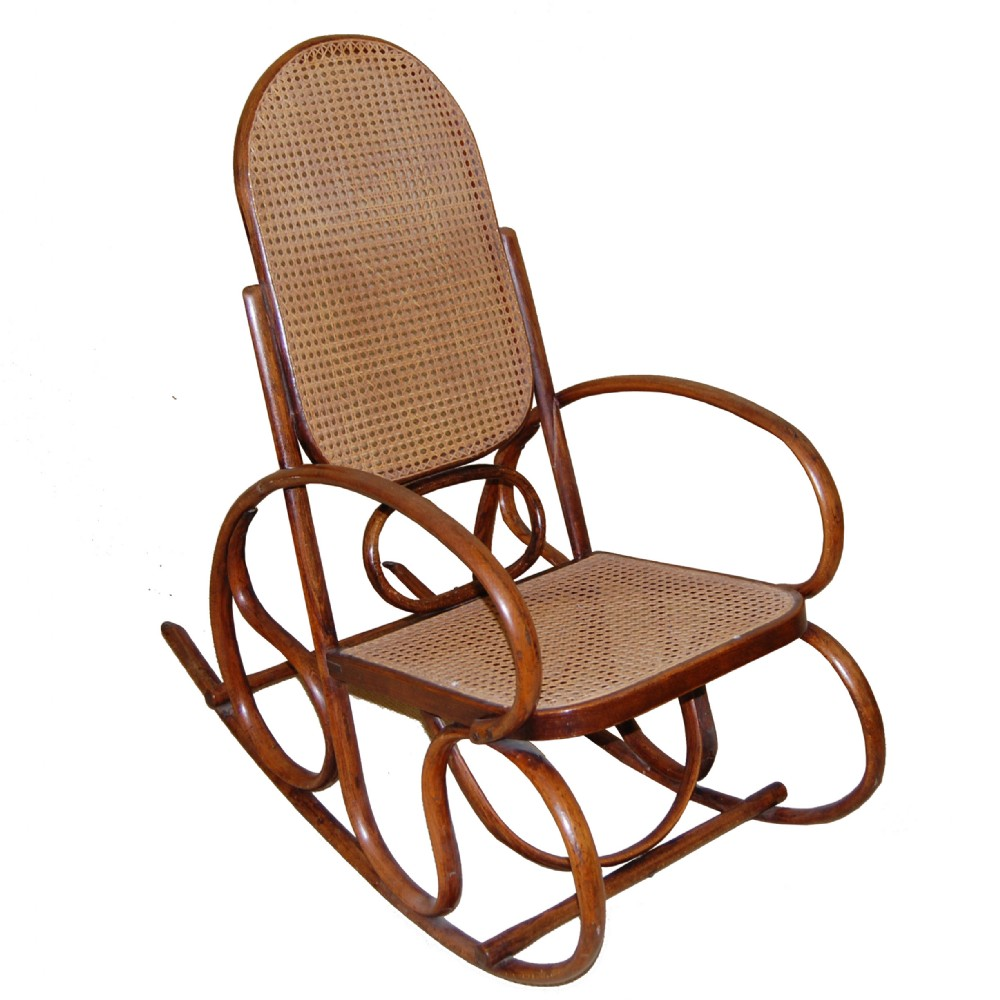 Thonet Style Bentwood Rocking Chair c697  284413