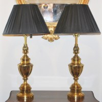 Pair Of Brass Stiffel Table Lamps | 288784 ...